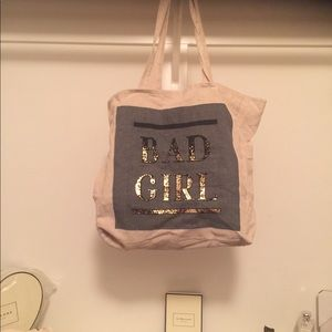 "Cotton-On Foundation ""Bad Girl"" Tote"